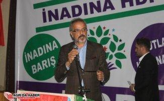 HDP'nin Ağrı'dan Milletvekili Adayı Sırrı Sakık mı?