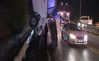 İstanbul'da Kaza : 1 ölü 1 yaralı
