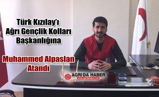 Muhammed Alpaslan Türk Kızılay'ı Ağrı Gençlik Kolları başkanlığına Atandı