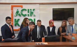 Açık Kapı Projesi Vali Elban'ın Katılımıyla Hayata Geçti
