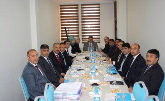 Ağrı'da Milli Eğitim Müdürleri Toplantısı Yapıldı