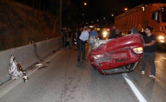 İzmir'de Feci Kaza 5 Yaralı Var!