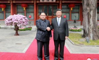 Kim Jong-Un'dan Süpriz Ziyaret