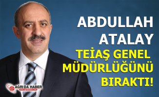 Abdullah Atalay Teiaş Genel Müdürlüğünden ayrılarak Emekli oldu