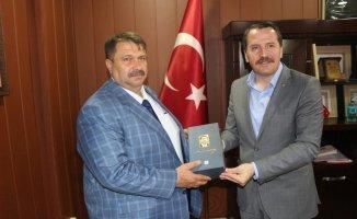Ali Yalçından Yakup Turana Ziyaret