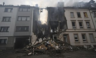Almanya'da Patlama Çok Sayıda Ölü