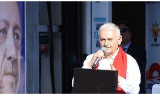 Başbakan Binali Yıldırım İstanbul'da Taksicilerle Buluştu