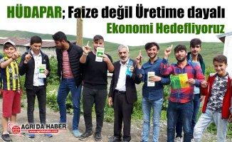 HÜDA PAR Ağrı Milletvekili Adayları Esnaf ve Köy ziyaretlerine devam ediyor