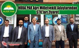 HÜDA PAR Ağrı Milletvekili Adaylarından STK'ları Ziyaret