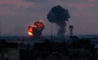 İsrail Gazze'de 8 Hedef Daha Vurdu