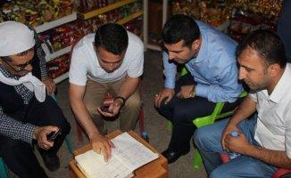 Şırnak'da Bir Grup Hayır Sever Veresiye Defterinin Borçlarını Kapattı