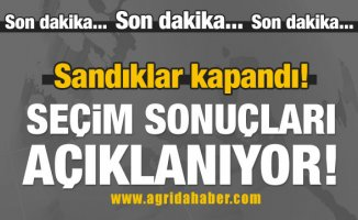 Türkiye Geneli Oy Kullanma işlemi Bitti! 2018 Seçim Sonuçları Açıklanıyor