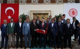 Ağrı'lı STK'lardan Türkiye Büyük Millet Meclis'inde Ziyaretler
