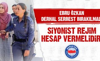 Ağrı Memur-Sen Kadın Kollarından Ebru Özkan Hakkında Sert Açıklama
