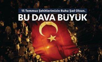 Ağrı Valisi Süleyman Elban 15 Temmuz Demokrasi ve Milli Birlik Günü'nü Kutladı