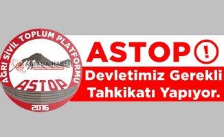 ASTOP'tan Minik Leyla İçin Yapılan Yürüyüşe Açıklama
