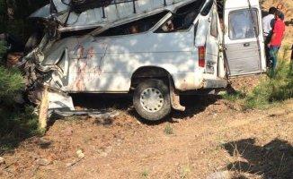 Düğün Dönüşü Feci Kaza 2 Ölü 8 Yaralı