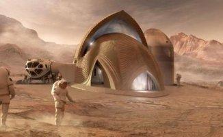 Nasa Açıkladı Mars'a Ev Yapılacak
