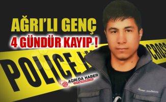 Ağrı'lı Genç Emrah Budak 4 Gündür kayıp
