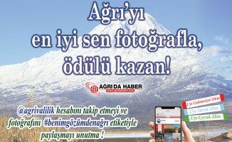 Ağrı Valiliğinden Ödüllü Fotoğraf Yarışması