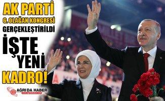 Ak Parti 6. Büyük Olağan Kongresini Gerçekleştirdi!