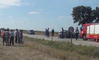 Edirne'de Trafik Kazası 2 Ölü Var