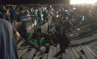 Festival'de Platform Çöktü 266 Kişi Yaralandı