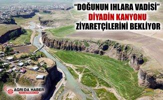 Ihlara Vadisi'ni Andıran Diyadin Kanyonu Ziyaretçilerini Bekliyor