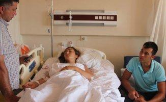 Muğla'da Denizde Yüzen Kadının Üstünden Tekne Geçti