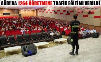 Ağrı'da 1264 Öğretmene Trafik Eğitimi Verildi!