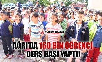Ağrı'da 160 Bin Öğrenci için İlk Ders Zili Çaldı!