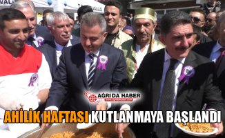 Ağrı'da Ahilik Haftası Kutlamaları