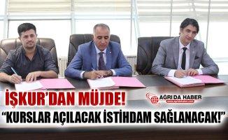 Ağrı'da MEGİP Kursları Düzenlenecek