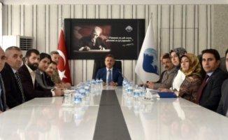 Ağrı'da Okul Güvenliği Toplantısı Vali Elban Başkanlığında Yapıldı
