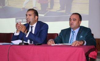 Ağrı'da Sportif Yetenek Taraması İçin Okul Müdürleri Toplantısı Yapıldı