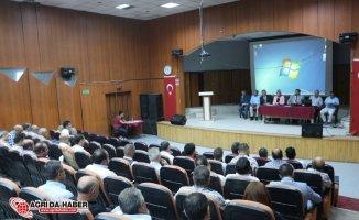 Ağrı'da Yeni Eğitim Öğretim Yılı Hazırlık Toplantısı