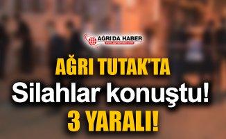 Ağrı Tutak'ta Silahlı Arazi Kavgası: 3 Yaralı!