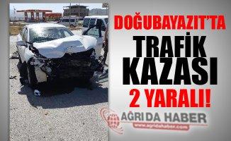 Doğubayazıt'ta Trafik Kazası: 2 Kişi Yaralandı