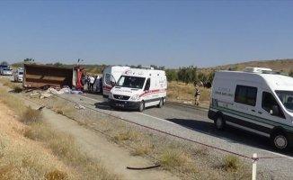 Gaziantep'de Kaza 8 Kişi Öldü
