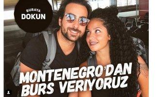 """İnstagram'da """"Montenegro'dan Burs Veriyoruz"""" Akımı"""
