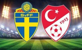 Türkiye 3-2 İsveç Şaşırtıcı Dönüş