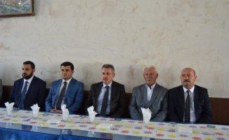 Vali Süleyman Elban'dan Sebahattin Sarı'ya Taziye Ziyareti