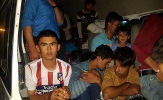Van'da 82 Göçmen Yakalandı