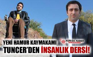 Yeni Hamur Kaymakamı Ömer Faruk Tuncer'in Örnek Davranışı!