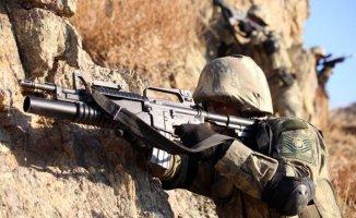 Bakanlık Açıkladı: 1 Haftada 25 Terörist ve 35 Sığınak İmha Edildi