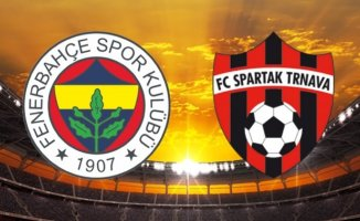Fenerbahçe Spartak Trnava Maçı Hangi Kanalda Saat Kaçta?