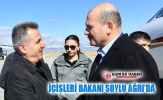 İçişleri Bakanı Süleyman Soylu Ağrı'da