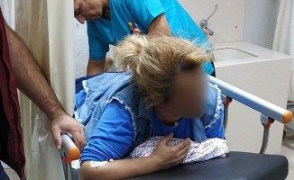 Kavga'da Yanlışlıkla kadını vurdu!