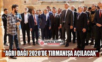 """Kültür ve Turizm Bakanı Ersoy: """"Ağrı Dağı 2020'de Tırmanışa Açılacak"""""""