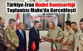 Türkiye-İran Hudut Komiserliği Toplantısı Maku'da Gerçekleşti